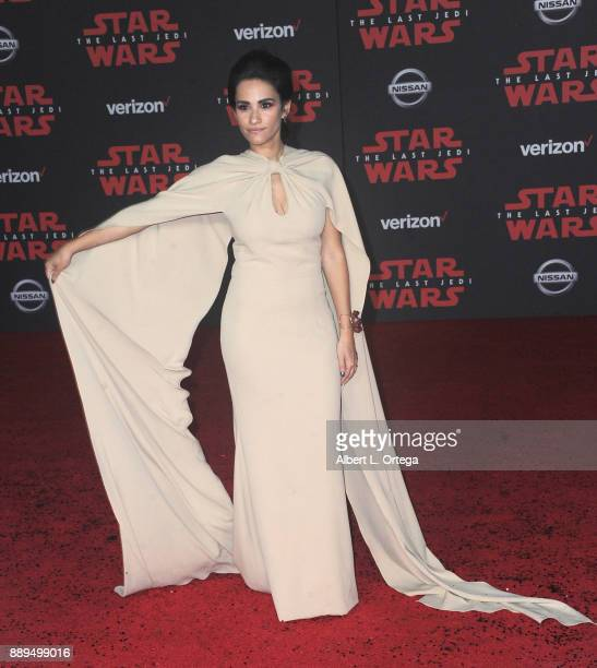 Tiffany Smith arrives for the Premiere Of Disney Pictures And Lucasfilm's 'Star Wars The Last Jedi' held at The Shrine Auditorium on December 9 2017...