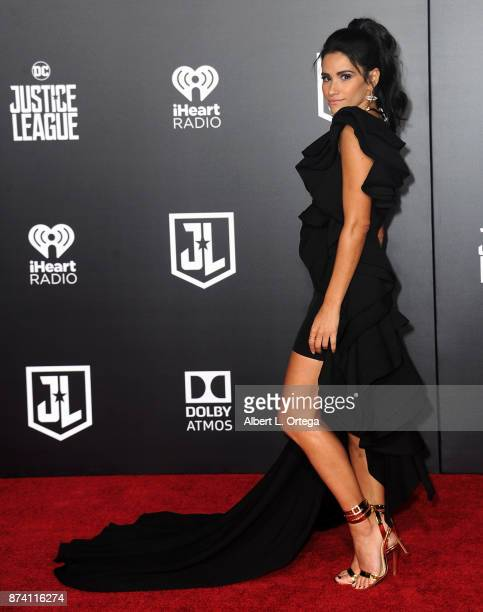Tiffany Smith arrives for the Premiere Of Warner Bros Pictures' 'Justice League' held at Dolby Theatre on November 13 2017 in Hollywood California