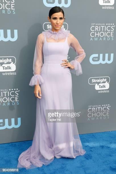 Tiffany Smith attends the 23rd Annual Critics' Choice Awards at Barker Hangar on January 11 2018 in Santa Monica California