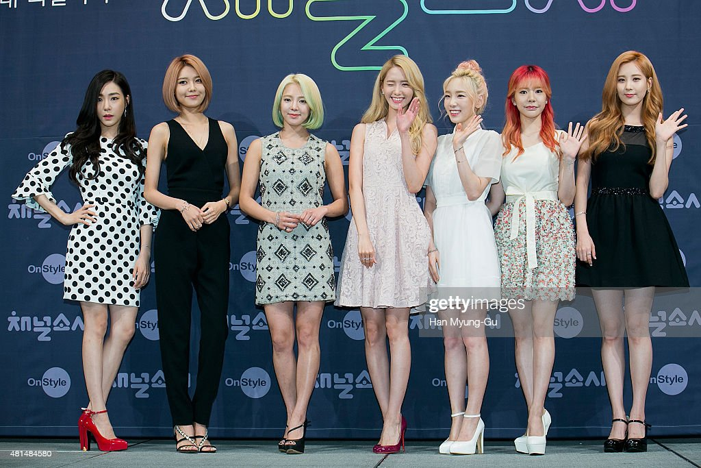 OnStyle 'Channel SNSD' Press Conference In Seoul : News Photo