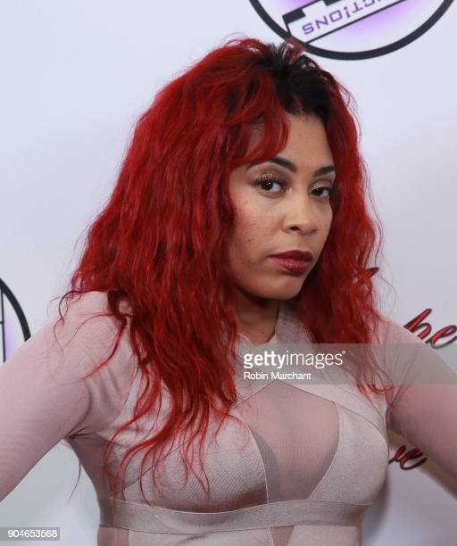 Tiffany Terry attends Agape Love Red Carpet on January 13 2018 in Milwaukee Wisconsin