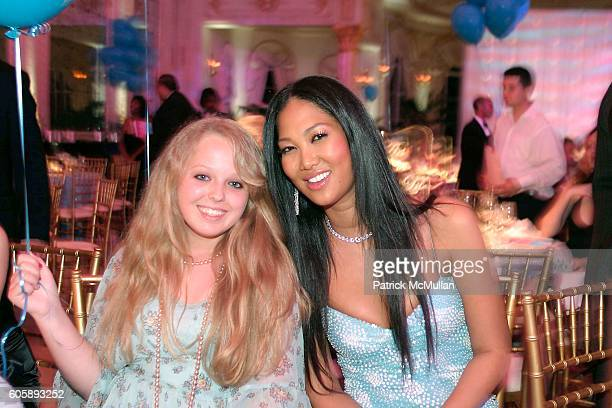 Tiffany trump and Kimora Lee Simmons attend Russell and Kimora Lee Simmons and the Rush Philanthropic Arts Foundation Present the 2nd Annual Art for...
