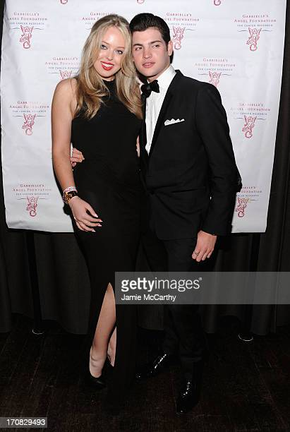 Tiffany Trump and Peter Brant Jr arrive at the 2nd Annual Millennial Ball 20 To Benefit Gabrielle's Angel Foundation For Cancer Research at Marquee...