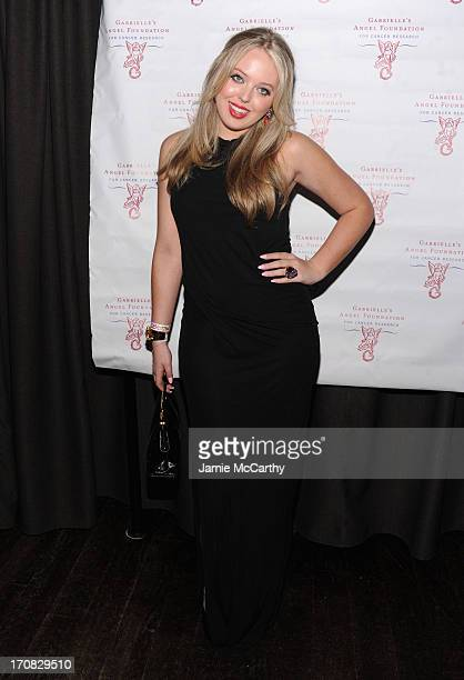 Tiffany Trump arrives at the 2nd Annual Millennial Ball 20 To Benefit Gabrielle's Angel Foundation For Cancer Research at Marquee on June 18 2013 in...