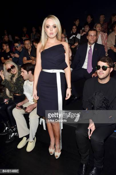 Tiffany Trump attends the Taoray Wang Front Row during New York Fashion Week The Shows at Gallery 1 Skylight Clarkson Sq on September 9 2017 in New...