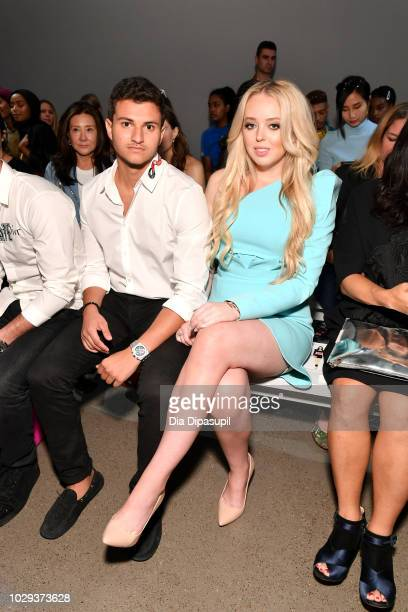 Tiffany Trump attends the Taoray Wang show during New York Fashion Week The Shows at Gallery II at Spring Studios on September 8 2018 in New York City