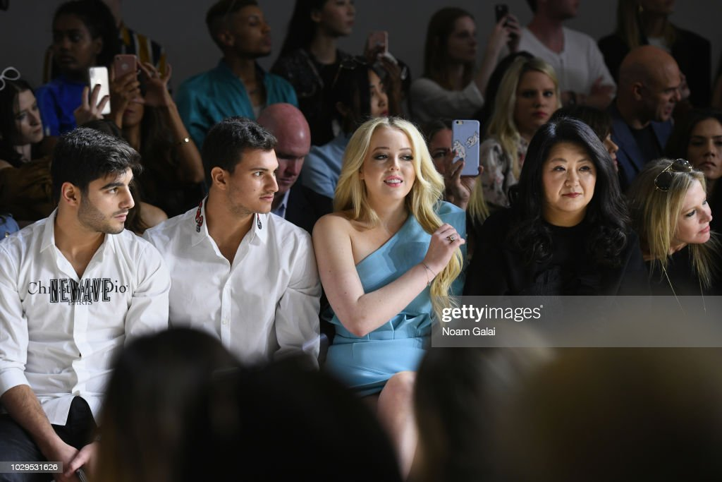 Tiffany Trump attends the Taoray Wang show during New York Fashion Week: The Shows on September 8, 2018 in New York City.