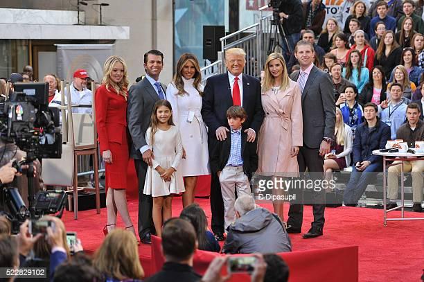 Tiffany Trump Donald Trump Jr Kai Trump Melania Trump 2016 Republican presidential candidate Donald Trump Tristan Trump Ivanka Trump and Eric Trump...