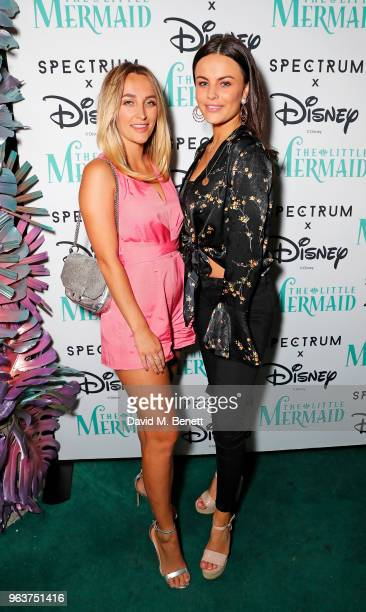 Tiffany Watson and Emily Blackwell attend the product launch for The Little Mermaid range by Spectrum Collections the first launch from their...