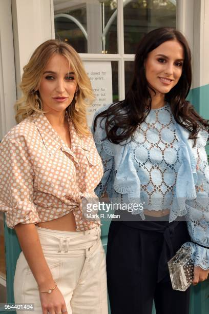 Tiffany Watson and Lucy Watson attending the opening of Tell Your Friends restaurant in Chelsea on May 3 2018 in London England