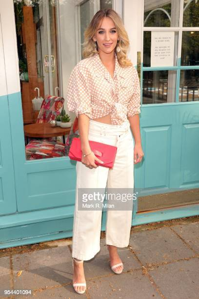 Tiffany Watson attending the opening of Tell Your Friends restaurant in Chelsea on May 3 2018 in London England