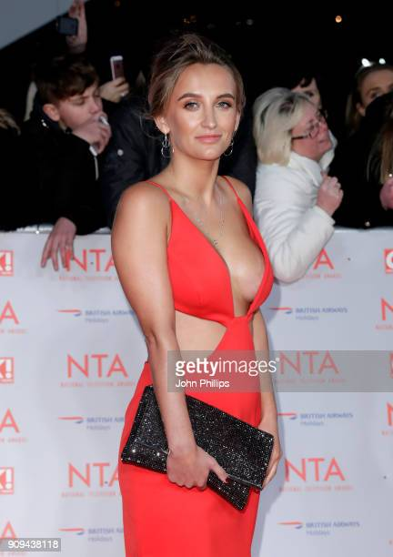 Tiffany Watson attends the National Television Awards 2018 at the O2 Arena on January 23 2018 in London England