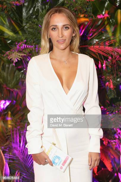 Tiffany Watson attends the REVOLVE 'LA Party In London' hosted by Winnie Harlow at Hotel Cafe Royal on May 31 2018 in London England