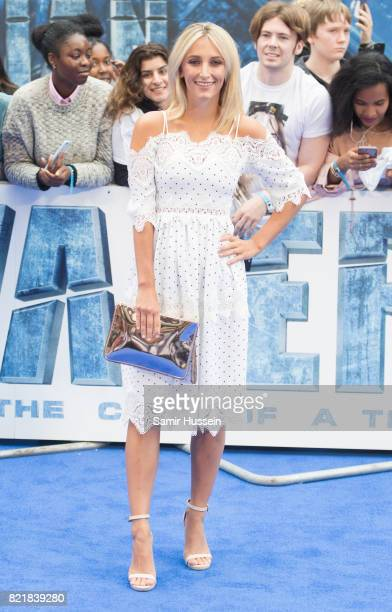 Tiffany Watson attends the Valerian And The City Of A Thousand Planets European Premiere at Cineworld Leicester Square on July 24 2017 in London...