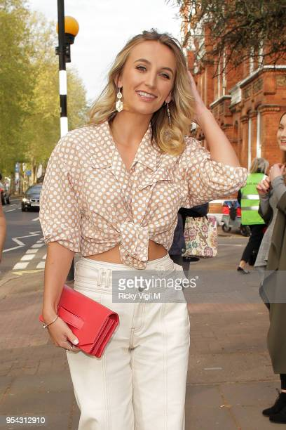 Tiffany Watson seen attending Tell Your Friends restaurant launch party on May 3 2018 in London England