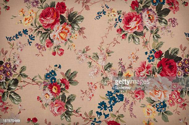 Tiffany's Garden Medium Antique Floral Fabric