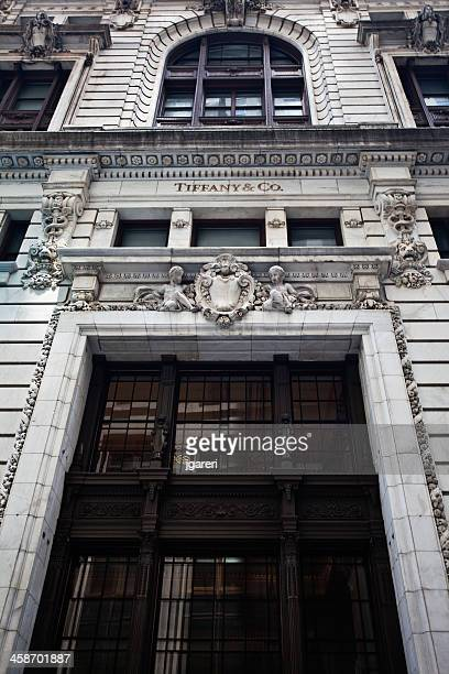 tiffany's new york - flagship store stock pictures, royalty-free photos & images