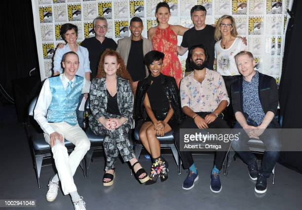 Tig Notaro Alex Kurtzman Wilson Cruz Mary Chieffo Anson Mount and Heather Kadin Doug Jones Mary Wiseman Sonequa Martin Green Shazad Latif and Anthony...