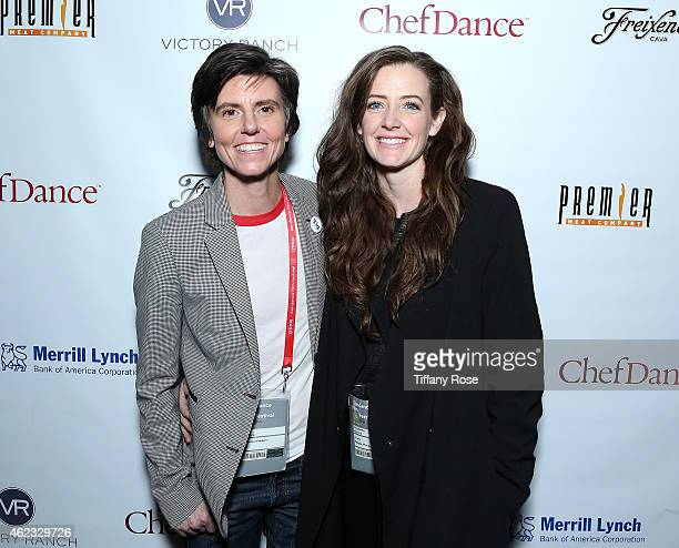 Tig Notaro and Stephanie Allynne attend ChefDance 2015 presented by Victory Ranch and sponsored by Merrill Lynch, Freixenet, Anchor Distilling, and...