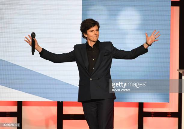 Tig Notaro attends the Casting Society Of America's 33rd Annual Artios Awards at The Beverly Hilton Hotel on January 18 2018 in Beverly Hills...