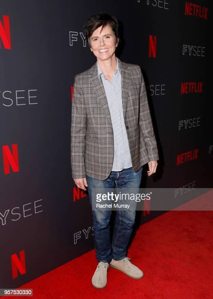 Tig Notaro attends the Netflix is a Joke Panel at Netflix FYSEE at Raleigh Studios on May 11 2018 in Los Angeles California