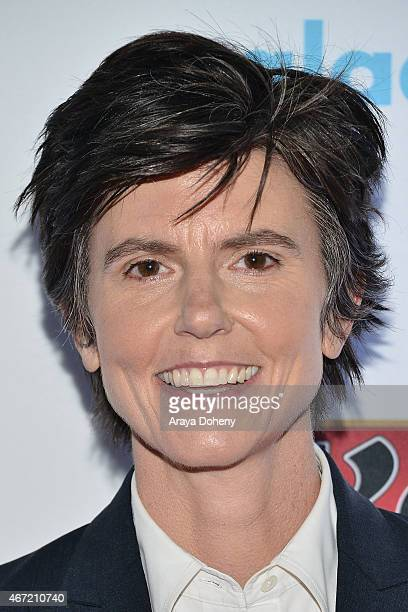 Tig Notaro attends VIP Red Carpet Suite Hosted by Ketel One Vodka at 26th Annual GLAAD Media Awards at the Beverly Hilton on March 21 2015 in Los...