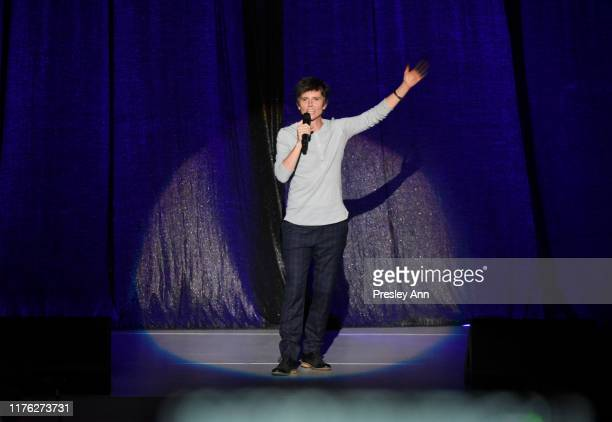 Tig Notaro performs onstage at the Los Angeles LGBT Center Celebrates 50th Anniversary With Hearts Of Gold Concert Multimedia Extravaganza at The...