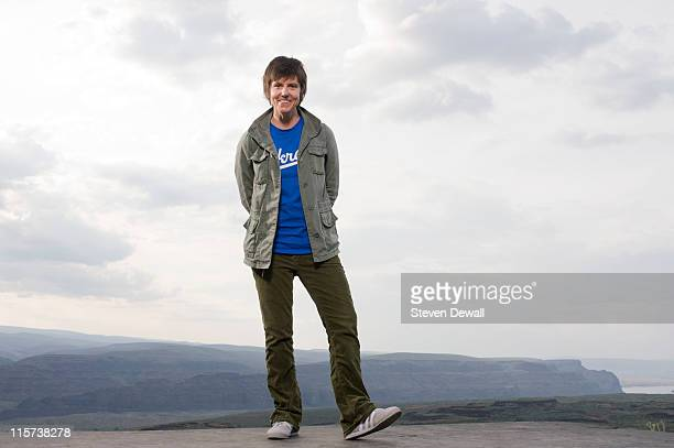 Tig Notaro poses for a portrait backstage at Sasquatch Music Festival at the Gorge Amphitheater on May 30 2011 in George United States