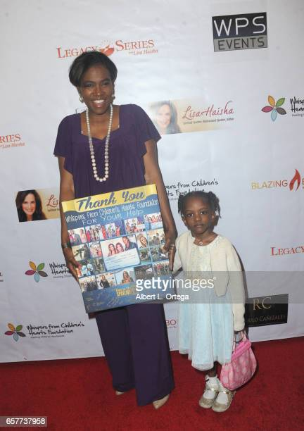 Tige Charity and Ebony Jewel arrive for the Whispers From Children's Hearts Foundation's 3rd Legacy Charity Gala held at Casa Del Mar on March 24...