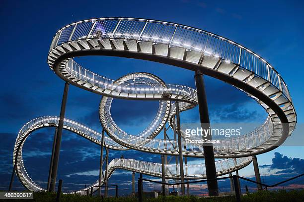 tiger and turtle - magic mountain - dark panthera stock pictures, royalty-free photos & images