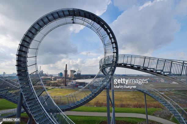 tiger and turtle - magic mountain. - duisburg imagens e fotografias de stock