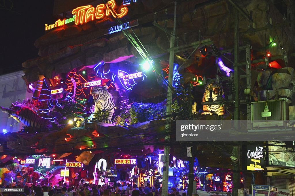 Tiger Entertainment Complex, Patong beach : Stock Photo
