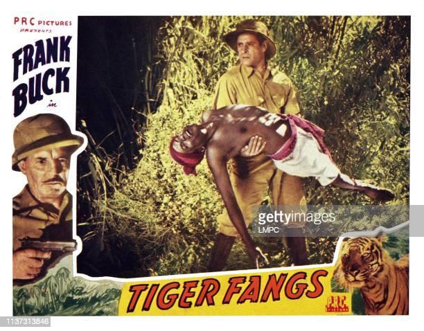 Tiger Fangs US lobbycard Frank Buck Duncan Renaldo 1943