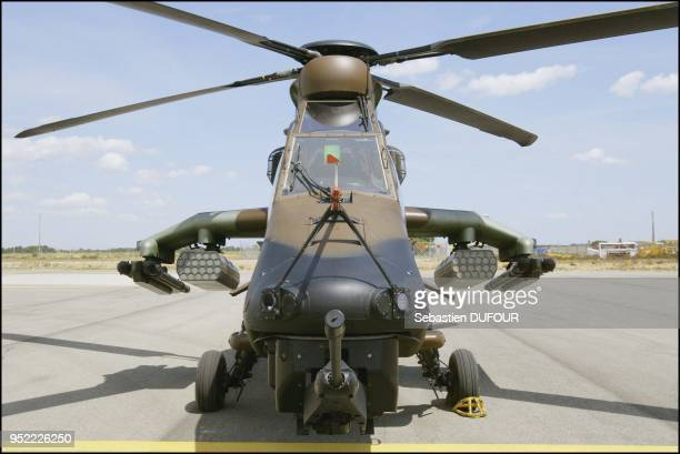 Tiger helicopter, the result of a French German joint program for which the contract was signed in 1998. The first aircraft will become operational...