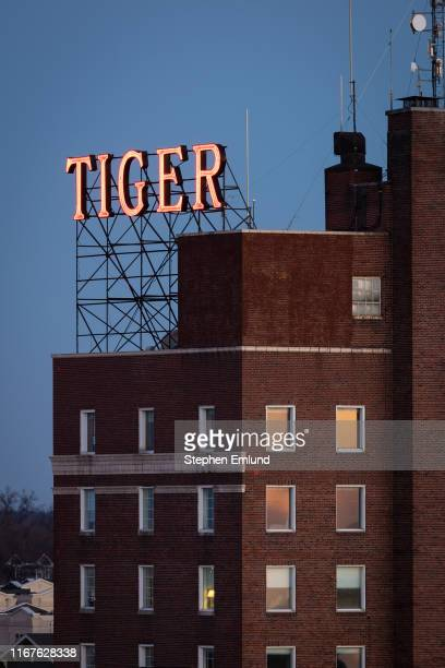 tiger hotel in downtown columbia, missouri - columbia missouri stock pictures, royalty-free photos & images