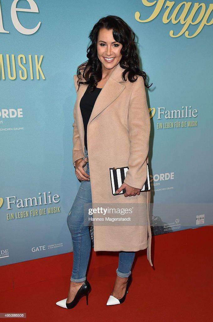 Tiger Kirchharz attends 'Die Trapp Familie - Ein Leben fuer die Musik' German Premiere at Gloria Palast on November 2, 2015 in Munich, Germany.