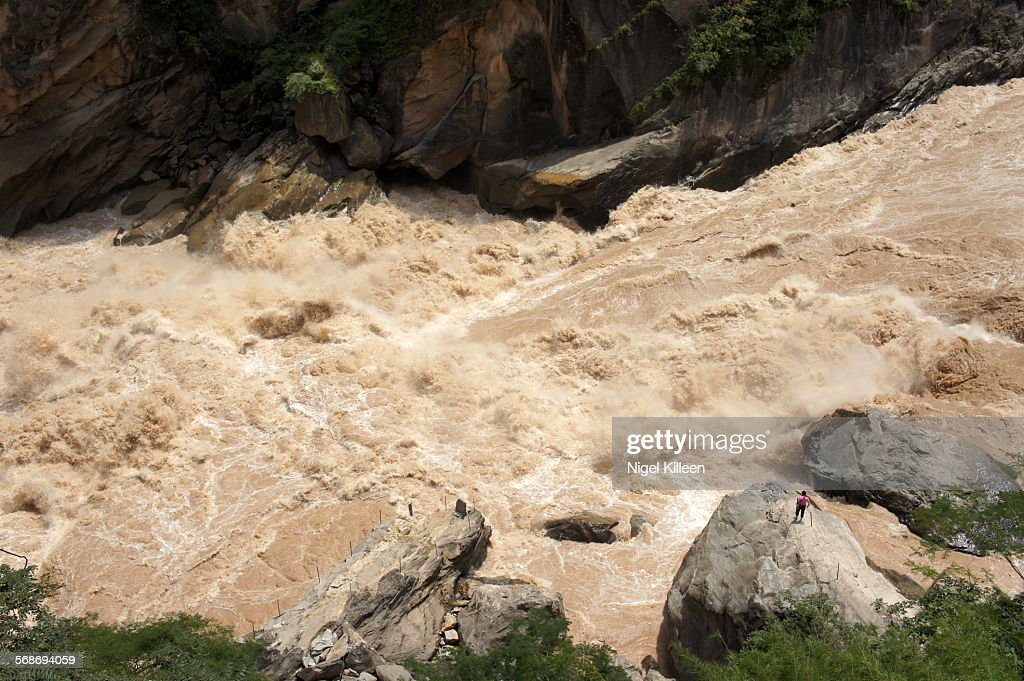 Tiger Leaping Gorge : Foto de stock