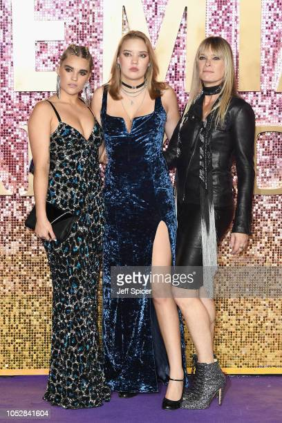 Tiger Lilly TaylorLola Leng Taylor and Deborah Leng attend the World Premiere of 'Bohemian Rhapsody' at SSE Arena Wembley on October 23 2018 in...