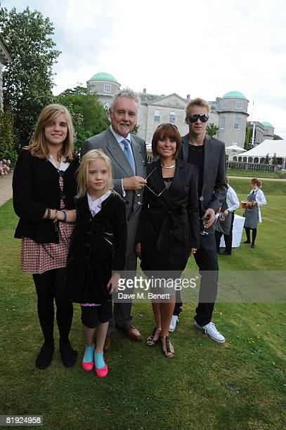 Tiger Lily Taylor Lola Daisy May Leng Taylor Roger Taylor Sarina Potgieter and Rufus Taylor attend the Cartier Style et Luxe Concours at the Goodwood...