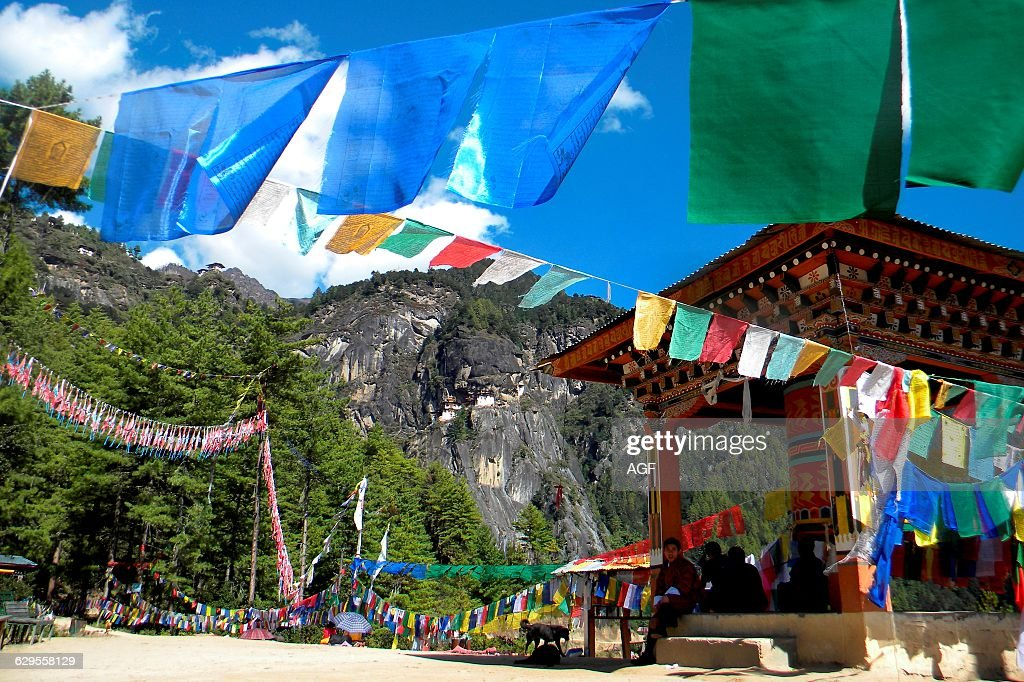Tiger Nest. Bhutan : News Photo