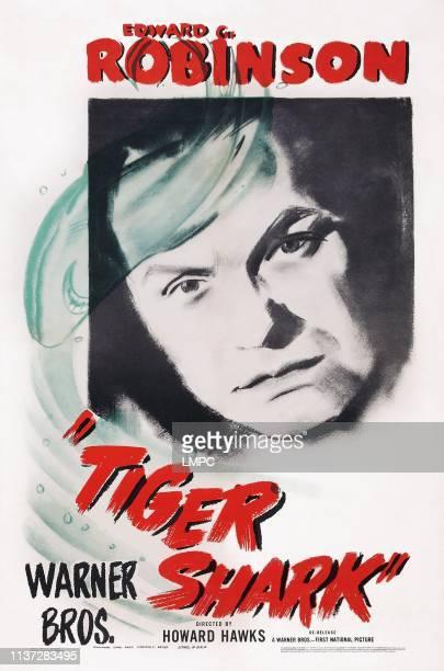 Tiger Shark poster US poster art Edward G Robinson 1932