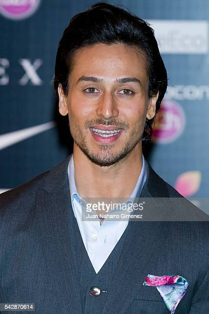 Tiger Shroff attends IIFA Awards 2016 Rocks Green Carpet at Ifema on June 24 2016 in Madrid Spain