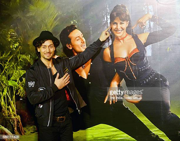 Tiger Shroff during the launch of the song 'Beat pe Botty' from the film A Flying Jatt in Mumbai