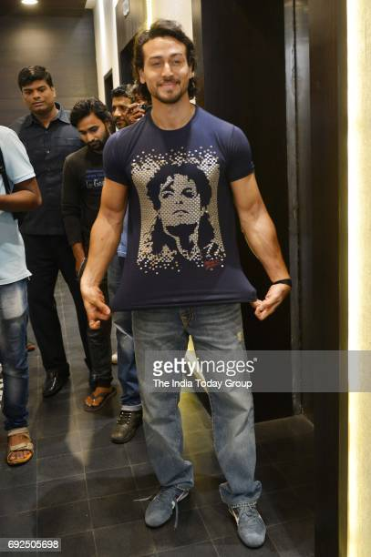 Tiger Shroff during the poster launch of film Munna Michael in Mumbai