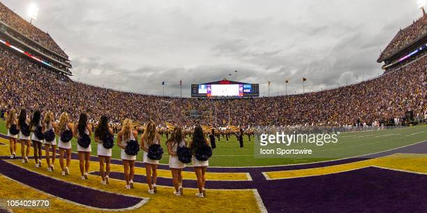 Tiger Stadium before a game between the Mississippi State Bulldogs and LSU Tigers on October 20 at Tiger Stadium in Baton Rouge Louisiana