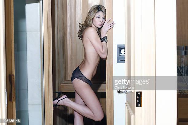 Tiger Wodds' alleged mistress Jaimee Grubbs poses at a portrait session for Maxim in Los Angeles CA on February 1 2011 PUBLISHED IMAGE NO TABLOIDS NO...