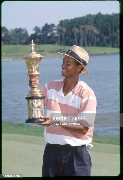 Tiger Woods 1994 U.S. Amateur at Stadium Course TPC Sawgrass Photo by Pete Fontaine/PGA TOUR Archive