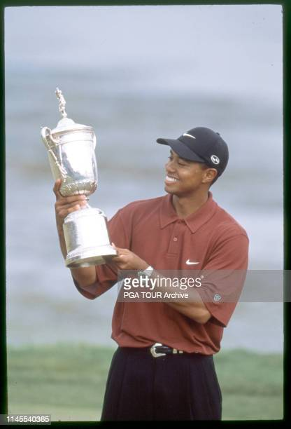 Tiger Woods 2000 U.S. Open - Sunday Photo by Stan Badz/PGA TOUR Archive