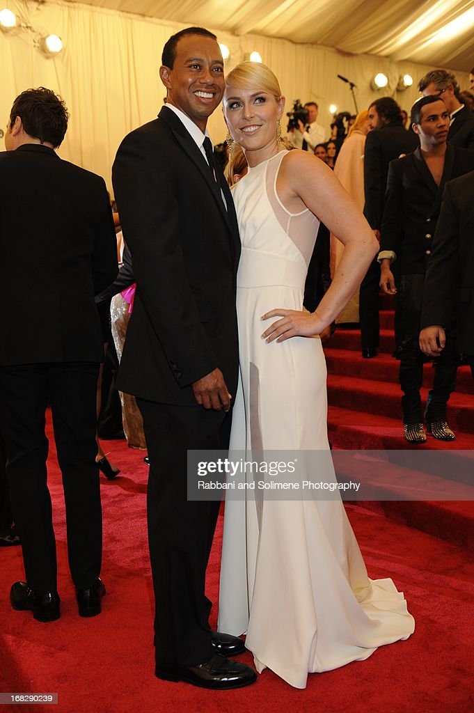 Tiger Woods and Lindsay Vonn attends the Costume Institute Gala for the u0027PUNK Chaos to  sc 1 st  Getty Images & Tiger Costume Stock Photos and Pictures | Getty Images