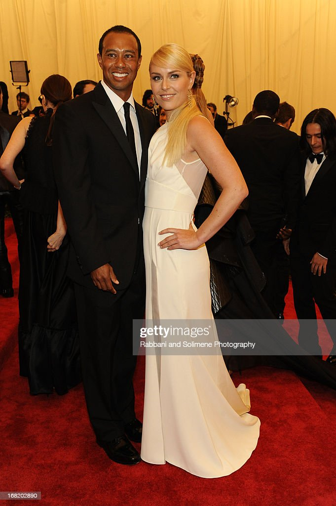 Tiger Woods and Lindsey Vonn attends the Costume Institute Gala for the u0027PUNK Chaos to  sc 1 st  Getty Images & Tiger Costume Stock Photos and Pictures | Getty Images